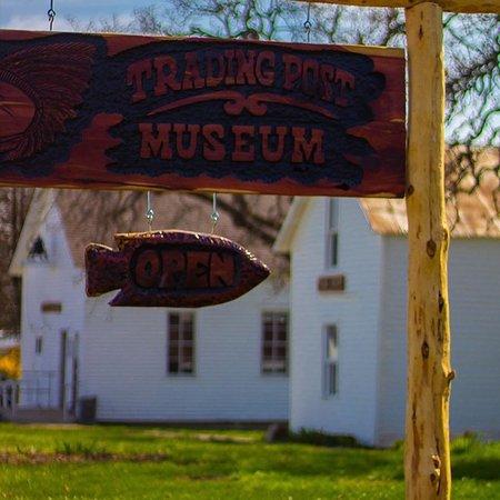 Pleasanton, KS: The beautiful Trading Post Museum.