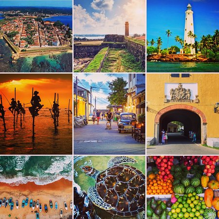 Galle District, ศรีลังกา: Some of the places that you can travel when stay at Galle city