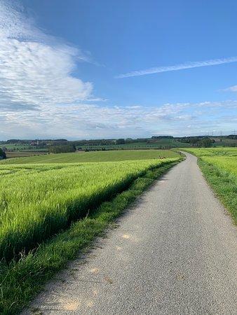 Taufkirchen, Niemcy: Wanderweg, Drum herum am Kramerhof