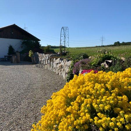 Taufkirchen, Niemcy: Sitzgruppe Garten