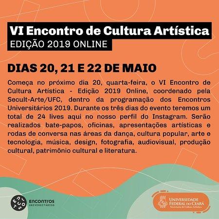 VI encontro de cultura artística