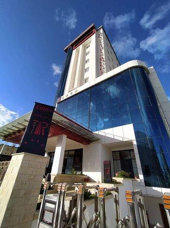 Mila, Algeria: #hotel_tapis_rouge vue extérieure