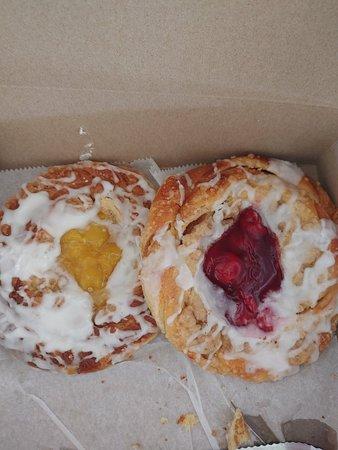 Cherry & Pineapple Danishes