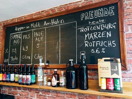Hoppen un Molt I Brauerei-Shop