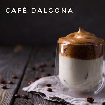Café Dalgona, delicioso😋
