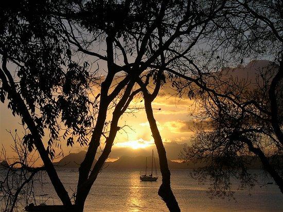 סנט אן, מרטיניק: Souvenirs de mes Voyages --- France -- Les Antilles -- La Martinique - Baie de Saint Anne au coucher du soleil - Un moment de Zénitude