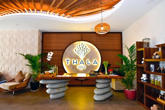 Duong To, Vietnam: Thala Spa reception