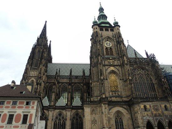 Velká jižní věž katedrály sv. Víta