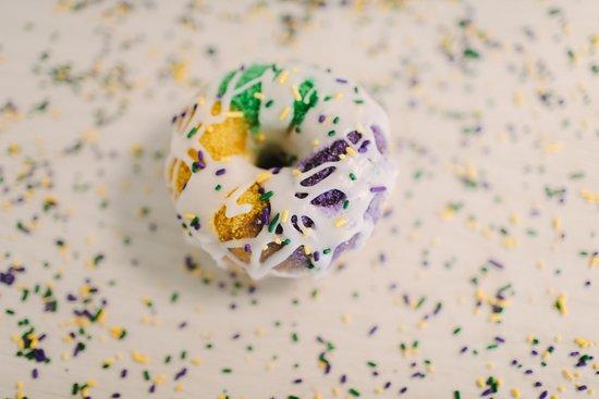 Norco, LA: Mardi Gras King Cake Donut