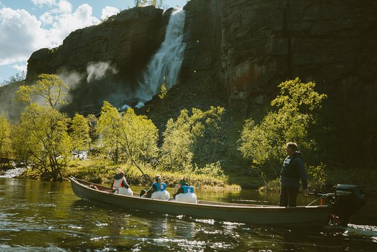 Storslett, Norge: Riverboat trip