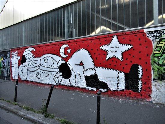 """Fresque """"le Père Noël"""""""