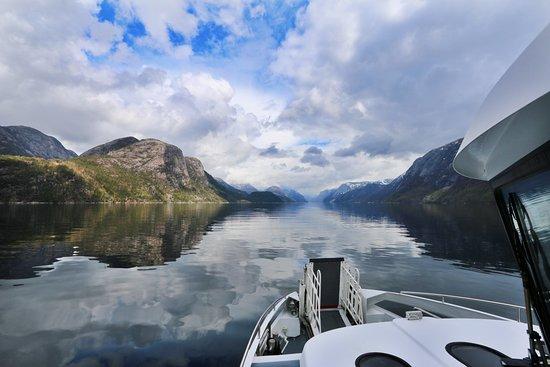 Helgoy i Ryfylke, Norway: Lysefjord