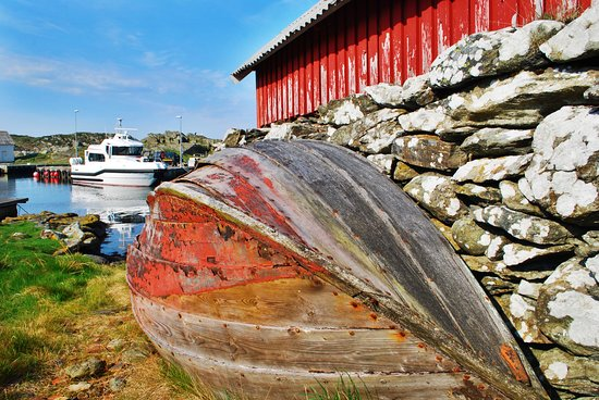 Helgoy i Ryfylke, Norway: Norwegian boathouse