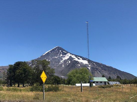 Lanin National Park, Argentina: Base Volcan Lanin