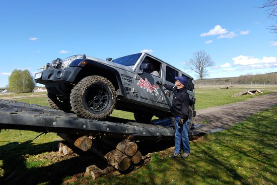 Offroading with 4x4 event at Ring Knutstorp