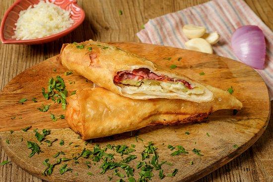 Pastirma Pie with handmade fyllo