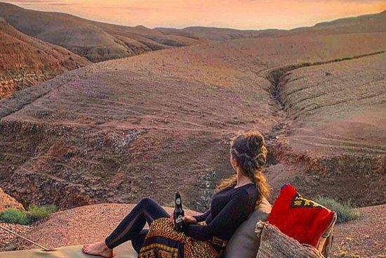 Visite guidée du désert de Ruel Agafay...