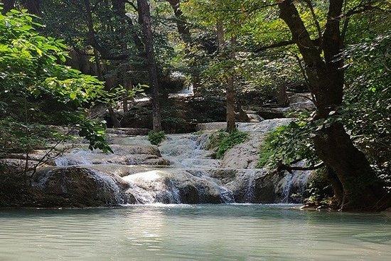 Privater Erawan Wasserfall & River Kwai...