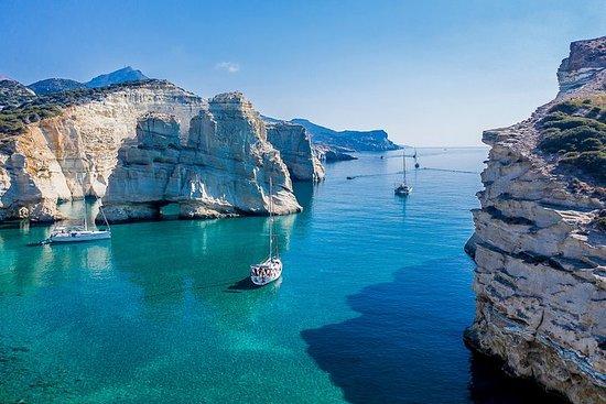 Full-Day Syros Catamaran Cruise with...