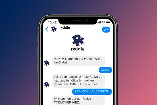 ryddle - digitale Stadtrallyes in Hamburg