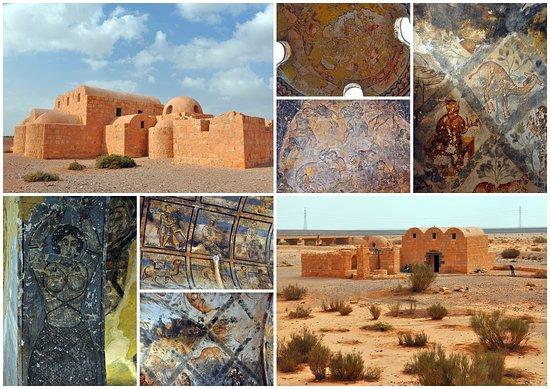 Azraq, Jordanie: Дворец Кусайер Амра
