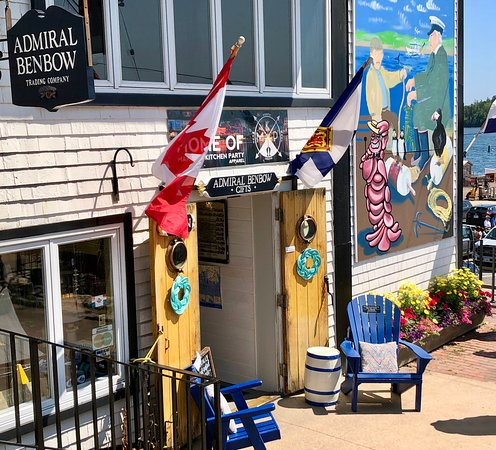Lunenburg, Canada: Entrance