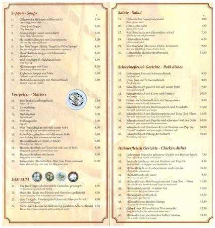 China Restaurant Hong Kong Dreieich Restaurant Reviews Photos Phone Number Tripadvisor