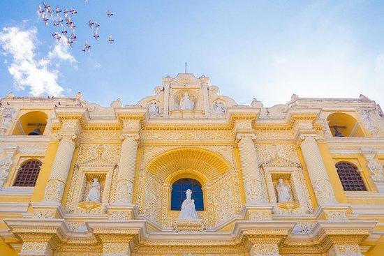 Colonial Antigua Guatemala-Rundgang & Heiße Quellen aus...
