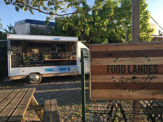 Capbreton, França: Venez découvrir nos délicieux repas au camion Food Landes