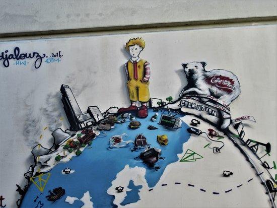 """Fresque """"Le petit Prince et la Cop 21"""""""