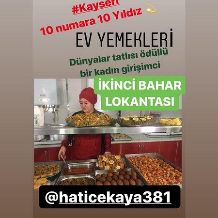 Kayseri Province, Turki: Evde yemek isteyipte yiyemediğiniz ev ve yöresel tadlsr bizde
