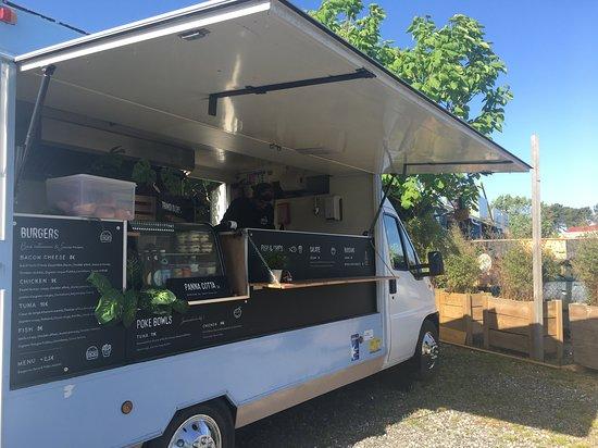 Capbreton, França: Burger au thon