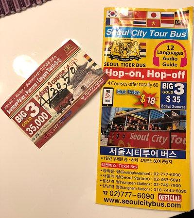 Seoul Hop-On Hop-Off Downtown Palace Course: Hop-On-Hop-Off Citytour