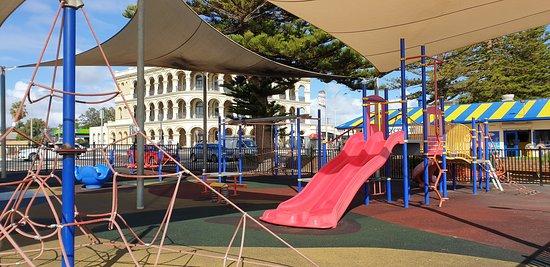 Largs Bay Jetty SA  playground in jetty precinct