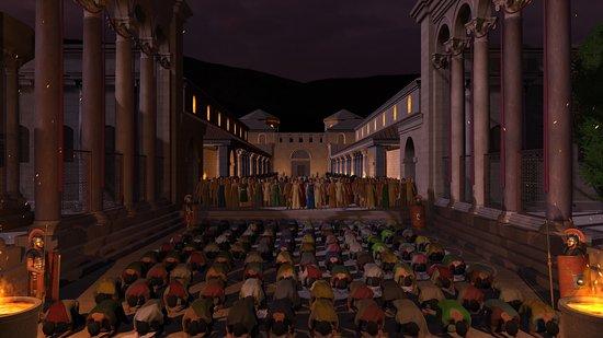 Movie Scene (Peristyle)
