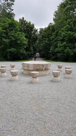 First in the row of three Brancusi's urban sculpture