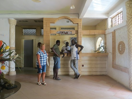 Louga, Senegal: Hotel  reception
