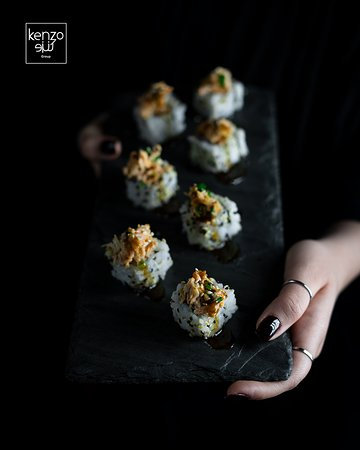 Grilled Salmon Roll Picture Of Kenzo Sushi Tehran Tripadvisor