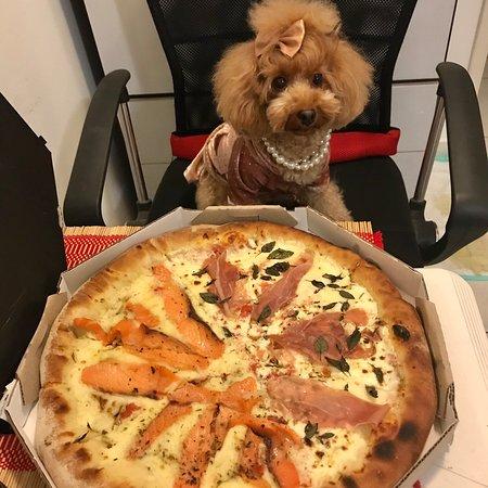 Pizza deliciosa, nota 1000