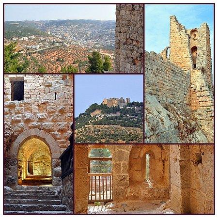 Ajlun, Jordania: Крепость Аджлун