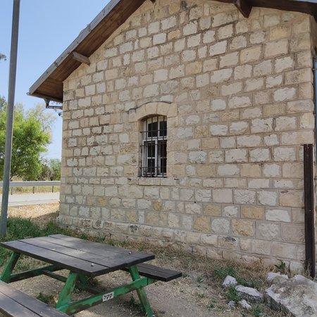 Kfar Yehoshua, Israel: מבנה בתחנת רכבת העמק, רכבת הטורקית הישנה