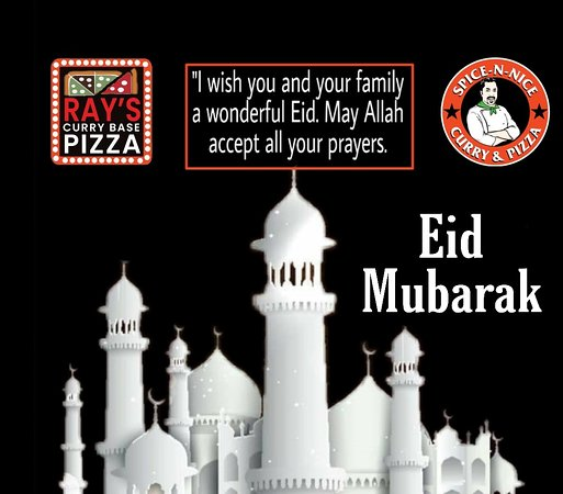 Eid Mubarak to all our customers