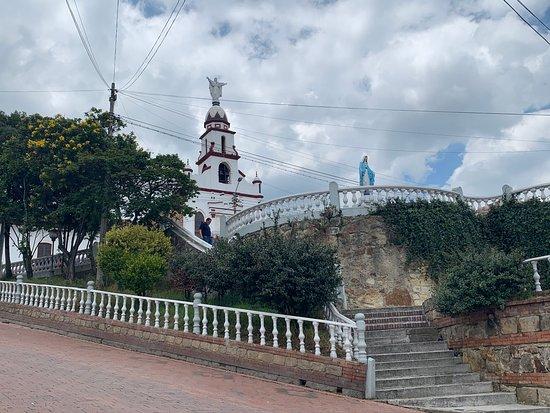 L'église et le belvédère