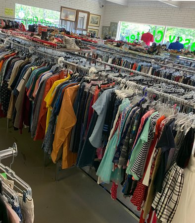 Our clothing section is amazing!!!  So many name brands:  Ariat, George Strait, MissMe, RockIt, Michael Kors, Chico, Kate Spade, Vera Bradley, Liz Taylor and sooooo many more.
