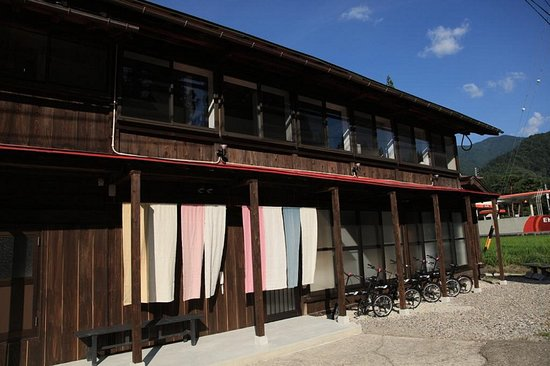 Front of the building. 建物の正面側です。