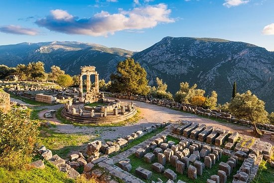 A plunge into ancient history Delphi...
