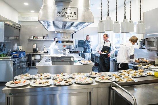 NOVA-AIR Küche (Foto: NOVAPARK, Ulrike Rauch)