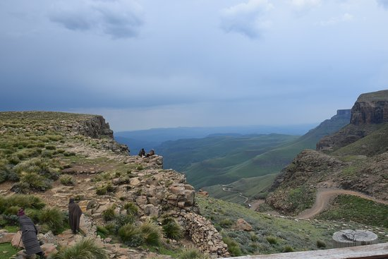 Sani Pass, Lesotho: View from the restaurant