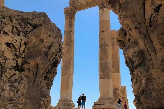 Guidad tur Jerash och Amman med lätt ...