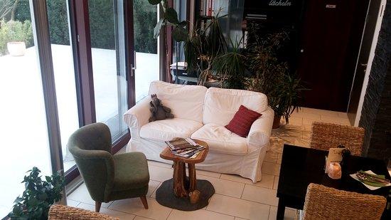 Ernstbrunn, Rakúsko: Couch - Leseecke